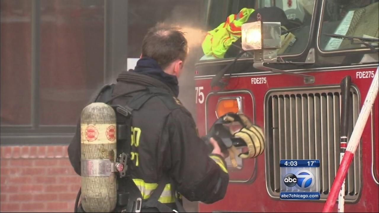 Bitter cold takes toll on firefighters, pets