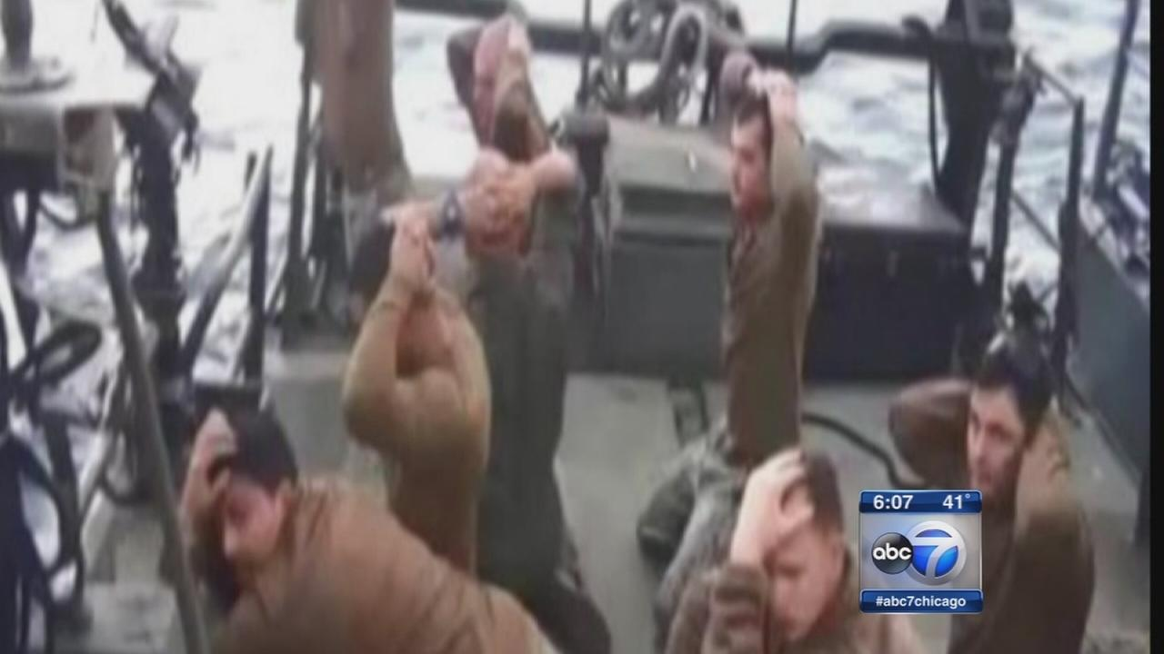 Iran claims sailor, crew were unprofessional