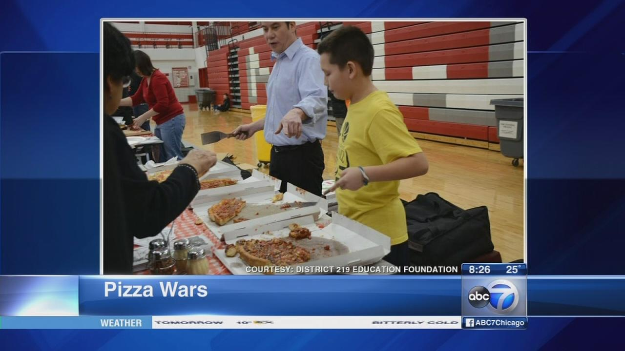 Pizza Wars benefits homeless students