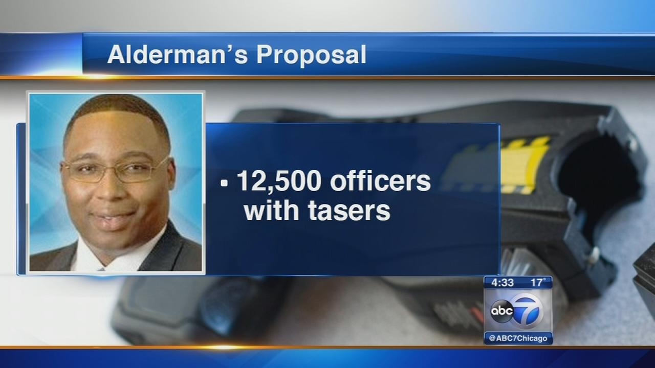 Alderman proposes all CPD officers carry Tasers
