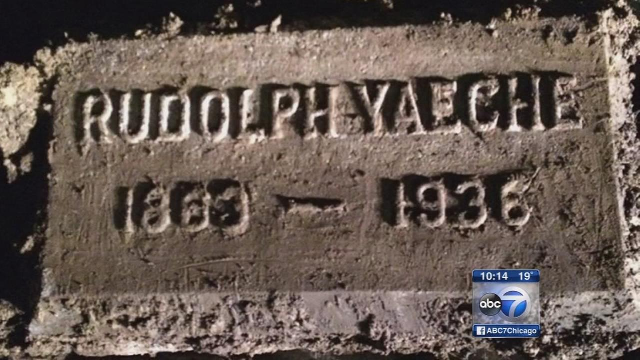 Tombstones uncovered on construction site raise questions
