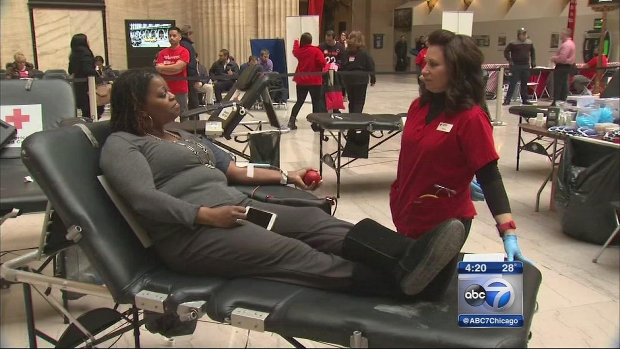700 donationes received during blood drive