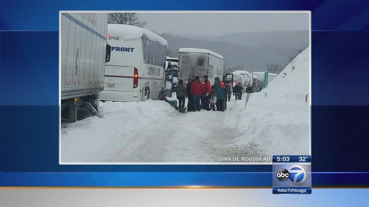 NW Ind. students stuck on Pa. Turnpike
