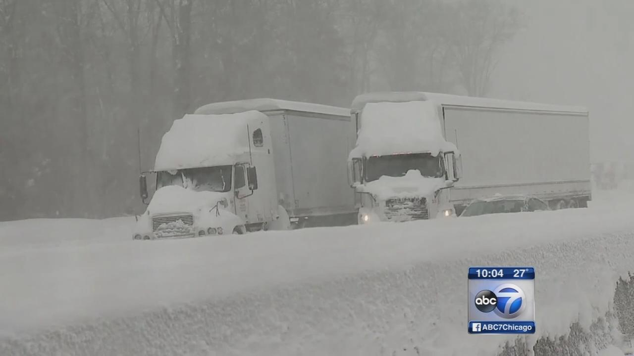 Blizzard hits East Coast