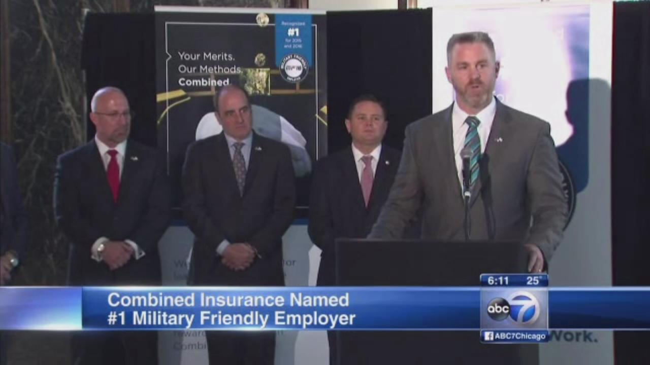 Glenview company named number one military friendly employer
