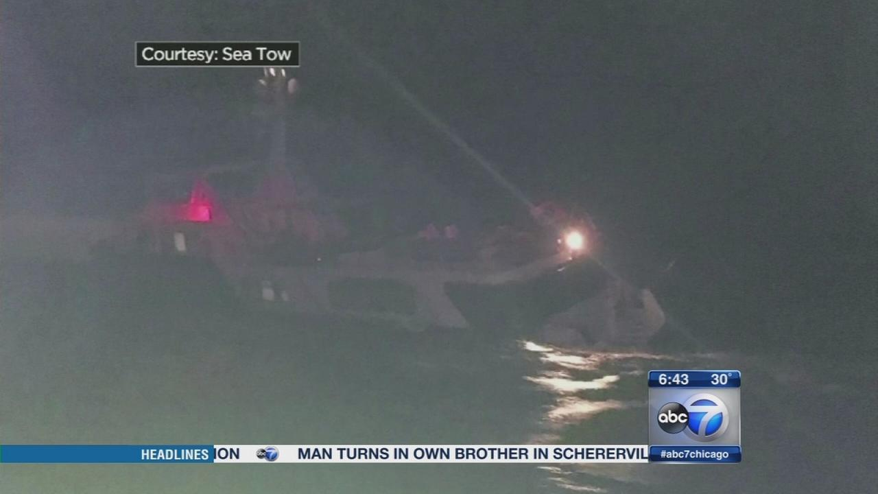 13 saved from Florida yacht