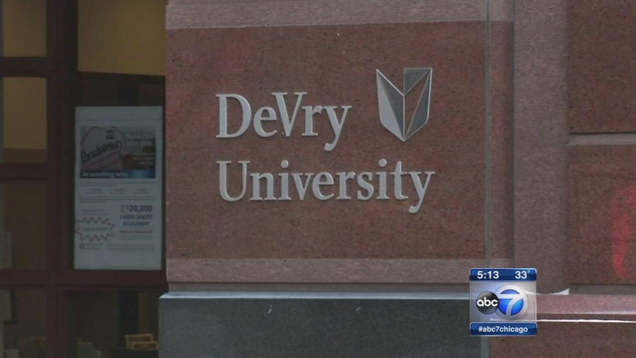 FTC files suit against DeVry