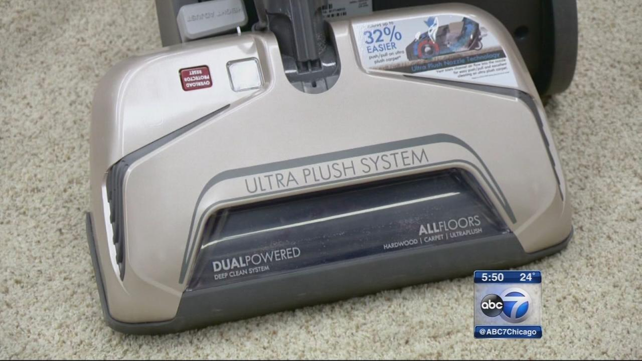 Vacuums for plush carpets