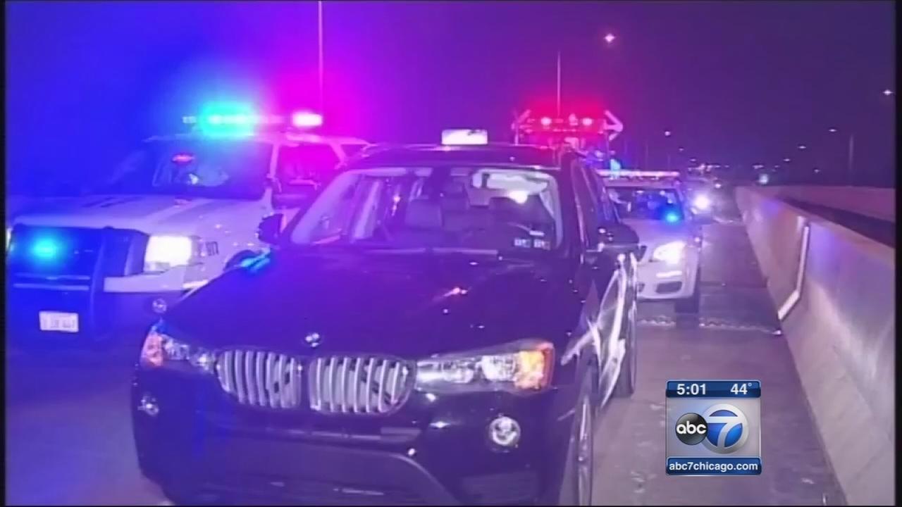 Expressway shooting injures 1