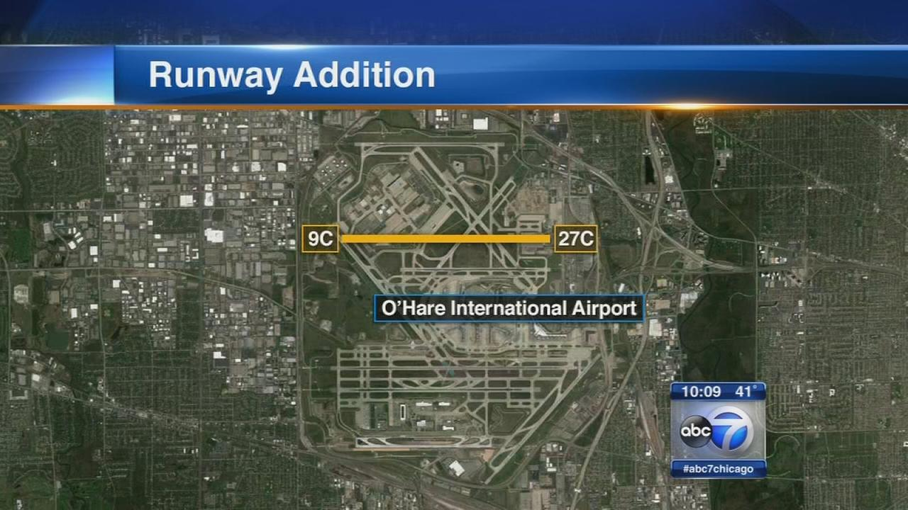 Chicago, airlines make deal on OHare runway