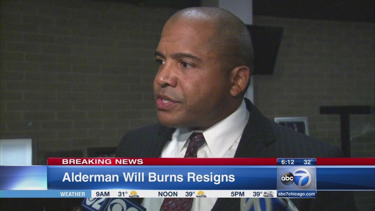 Alderman Will Burns resigns, mayors office says