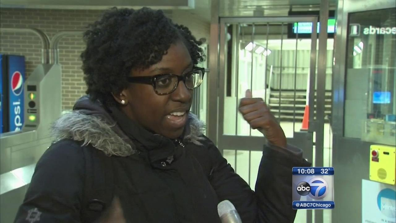 Woman attacked inside CTA Green Line station