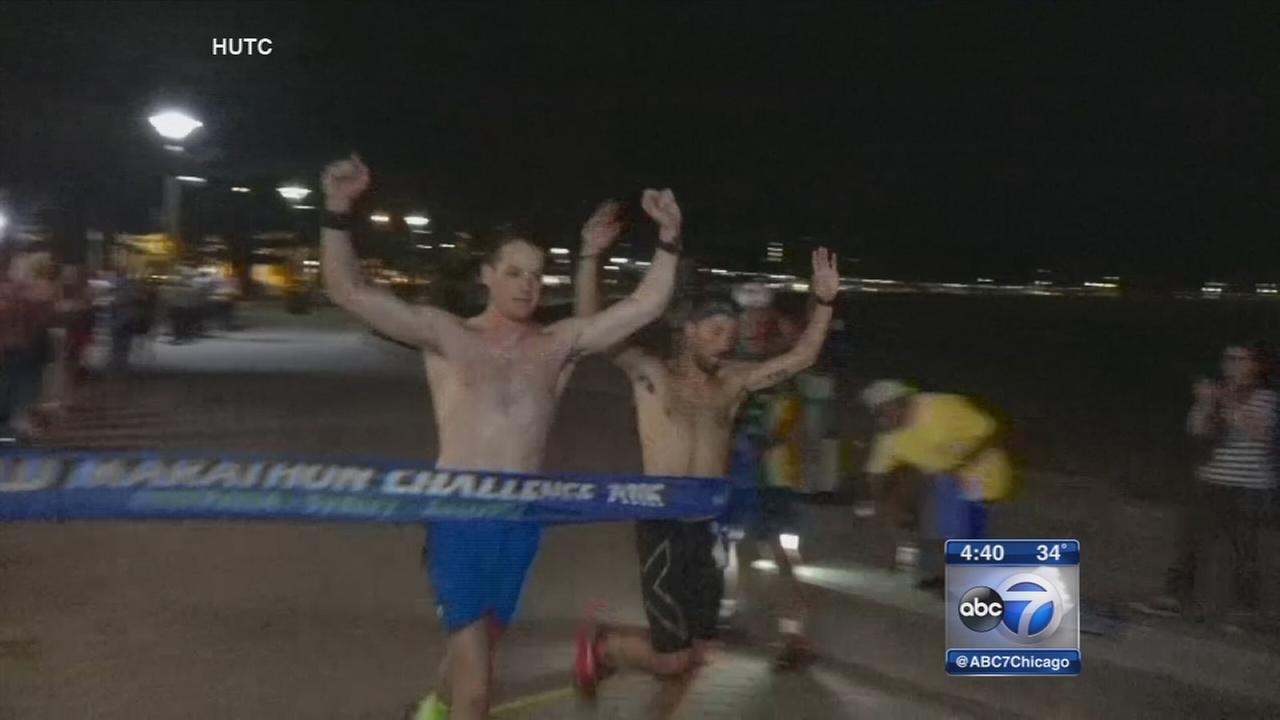Chicago Marine sets record time in World Marathon Challenge