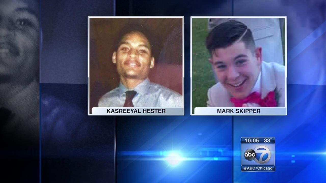 Vigil held for 2 teens shot in Gary