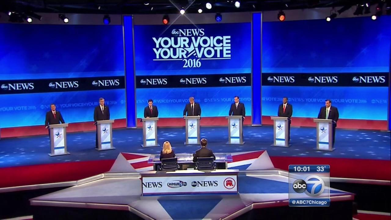 GOP debate in New Hampshire