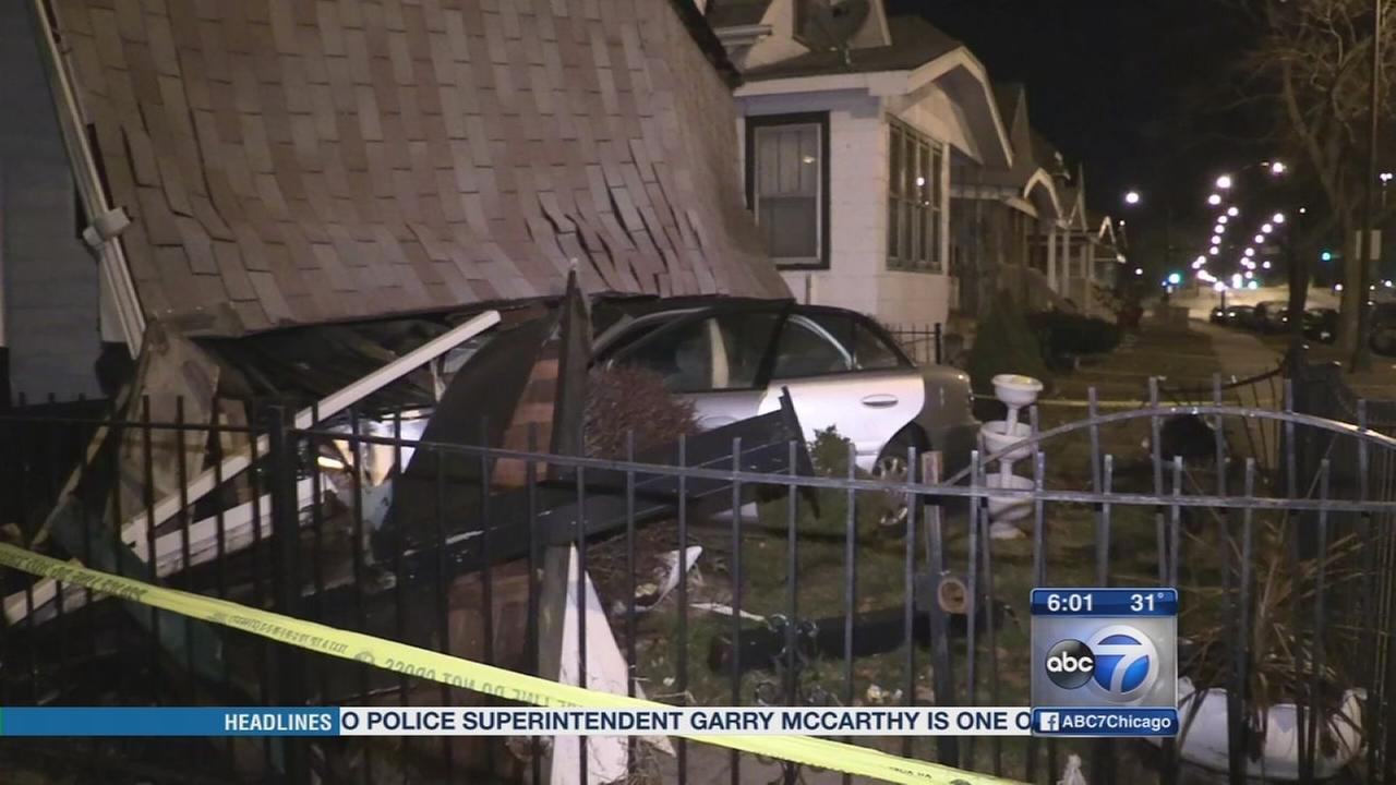 Car crashes into South Side home