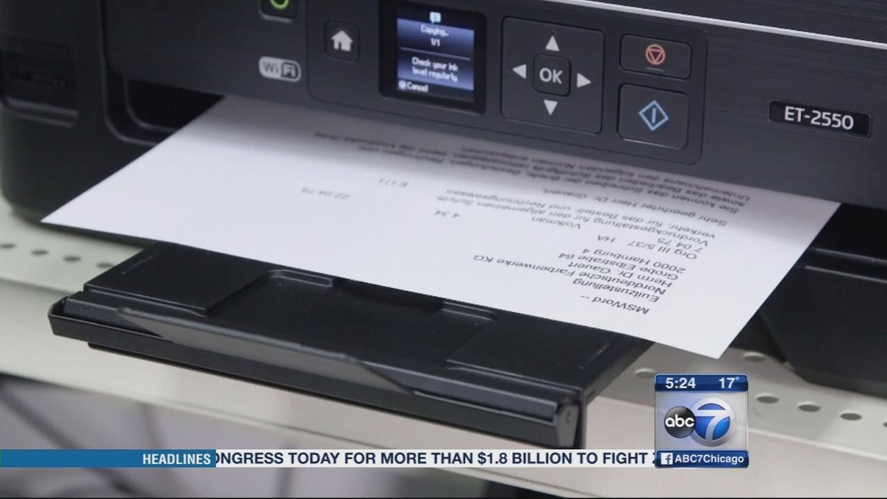 Consumer Reports Printer ink