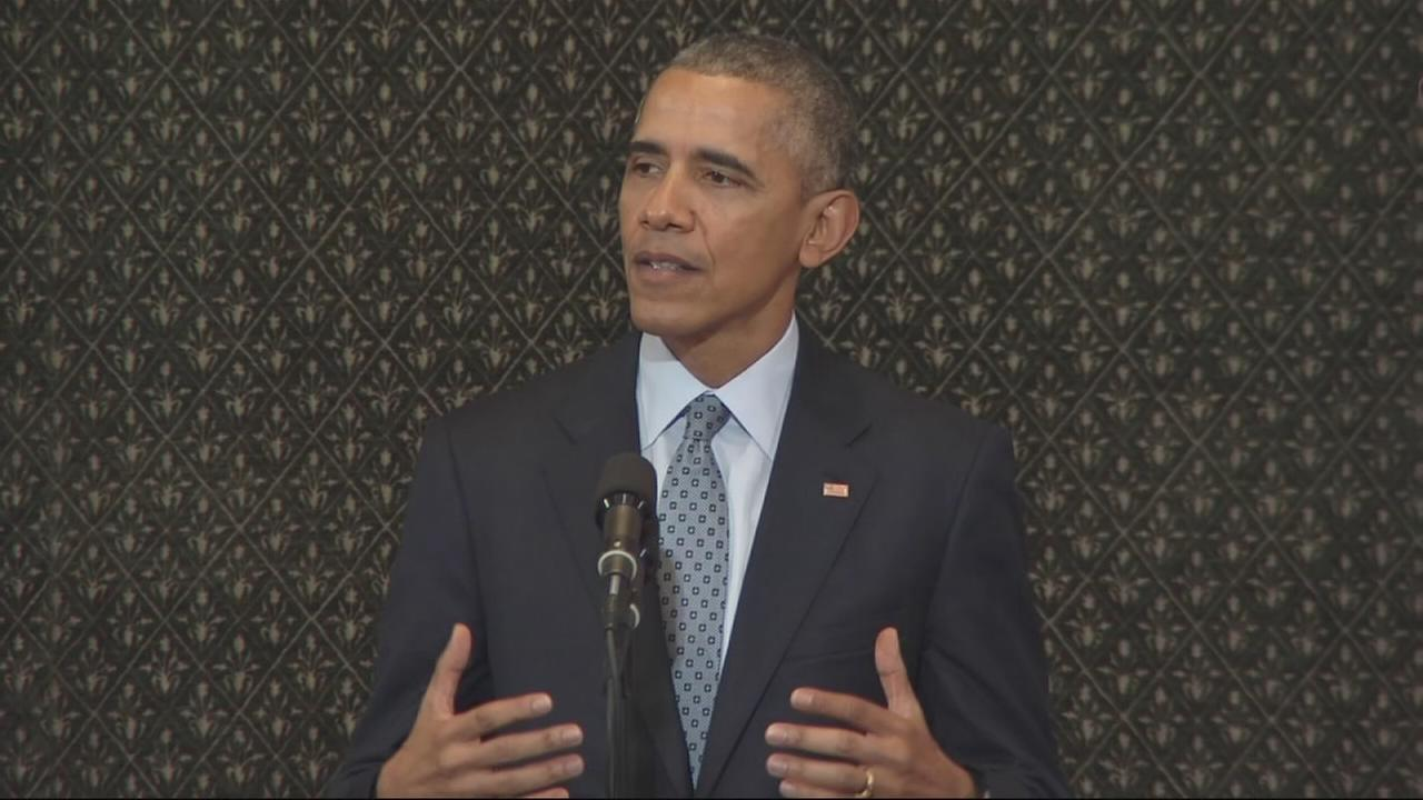 Obama speaks to General Assembly