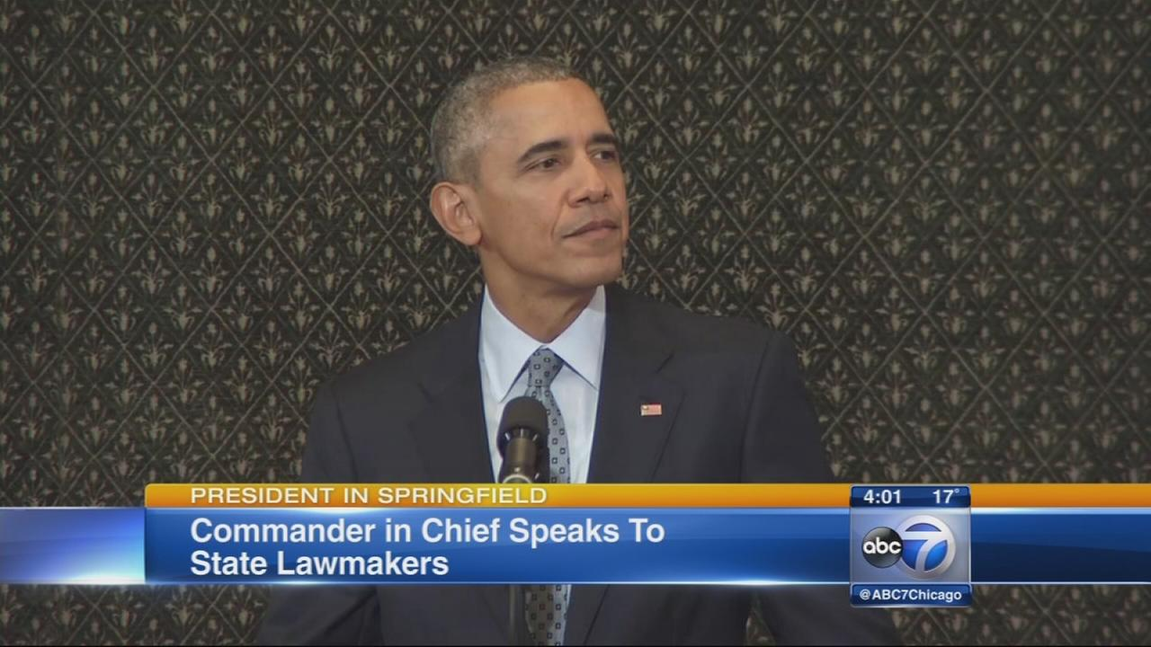 President Obama speaks to General Assembly