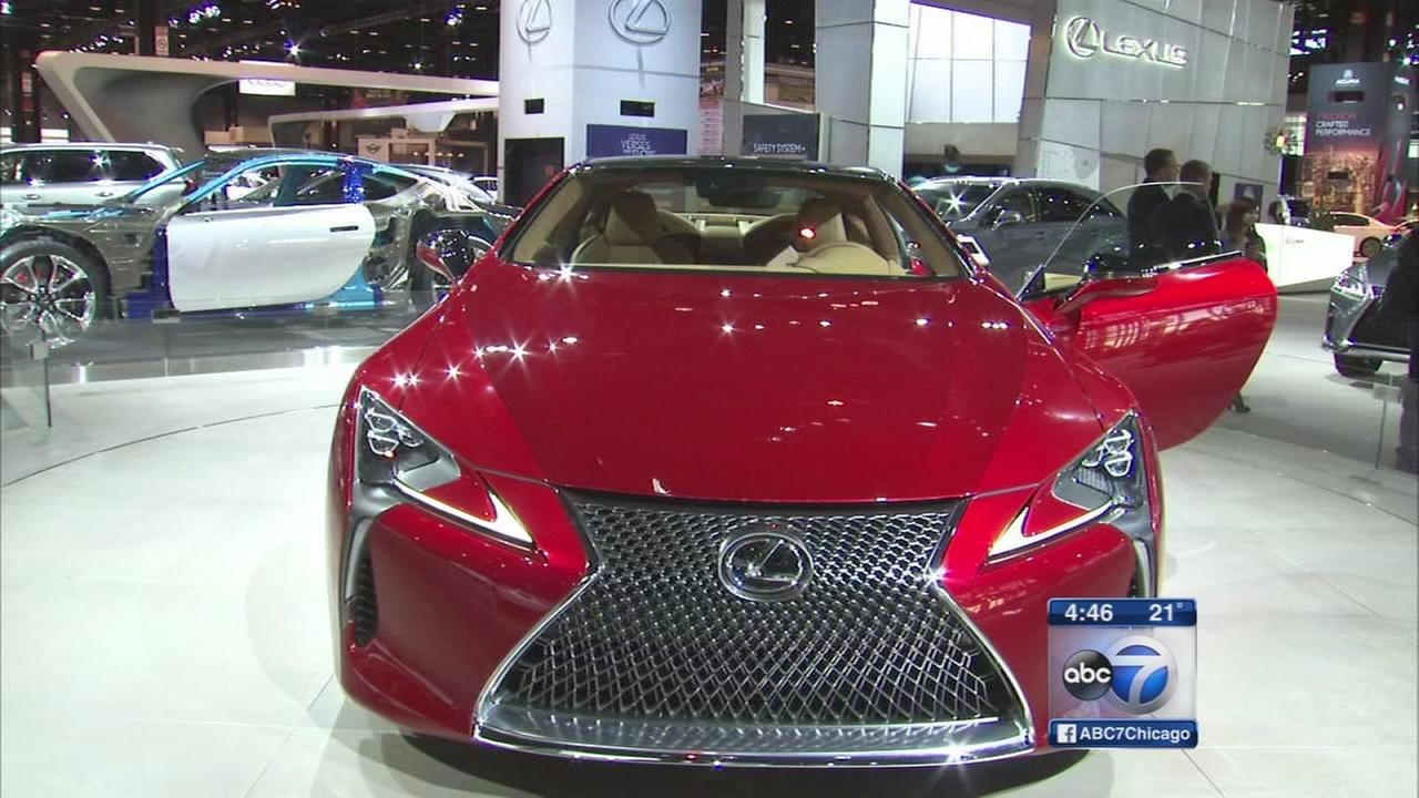 Whats new at the Chicago Auto Show
