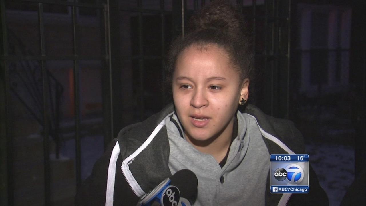 Girl, 16, speaks out after she was shot on way to school