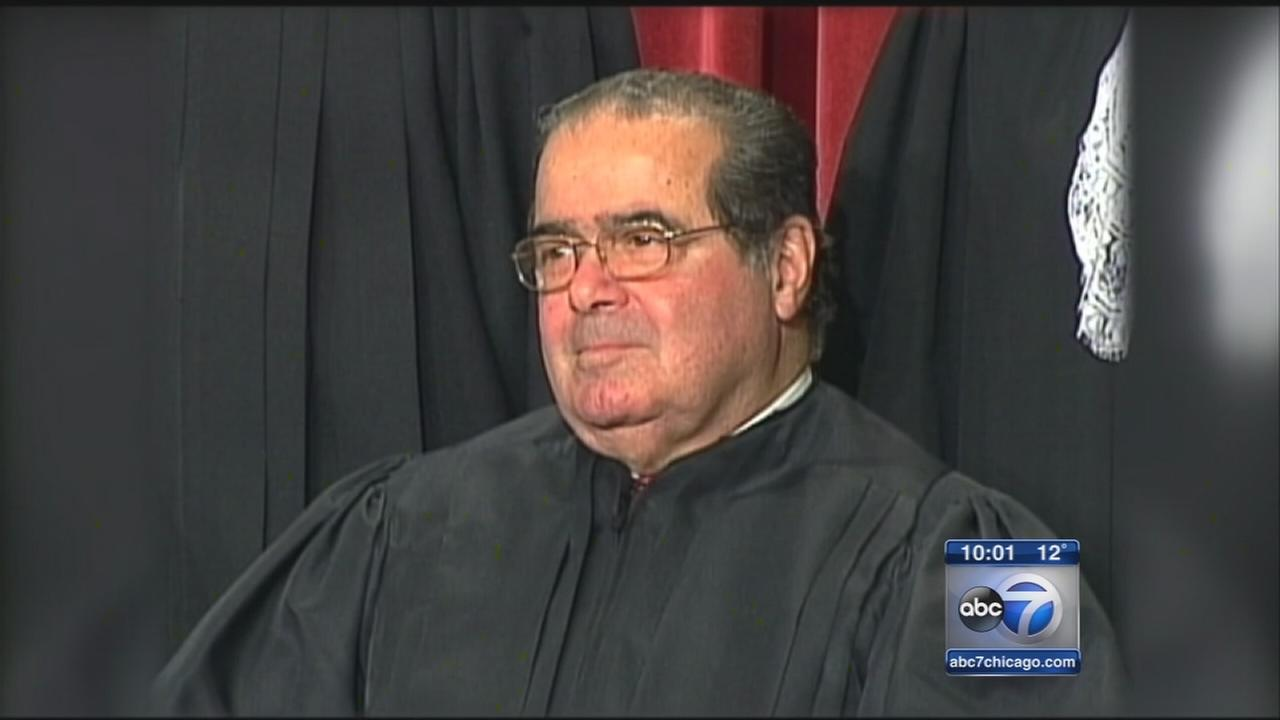 Justice Scalia passes away