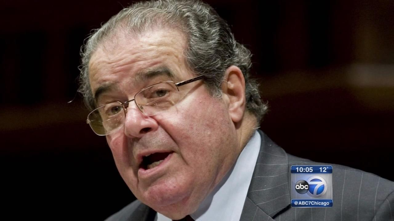 Justice Scalia had Chicago connections