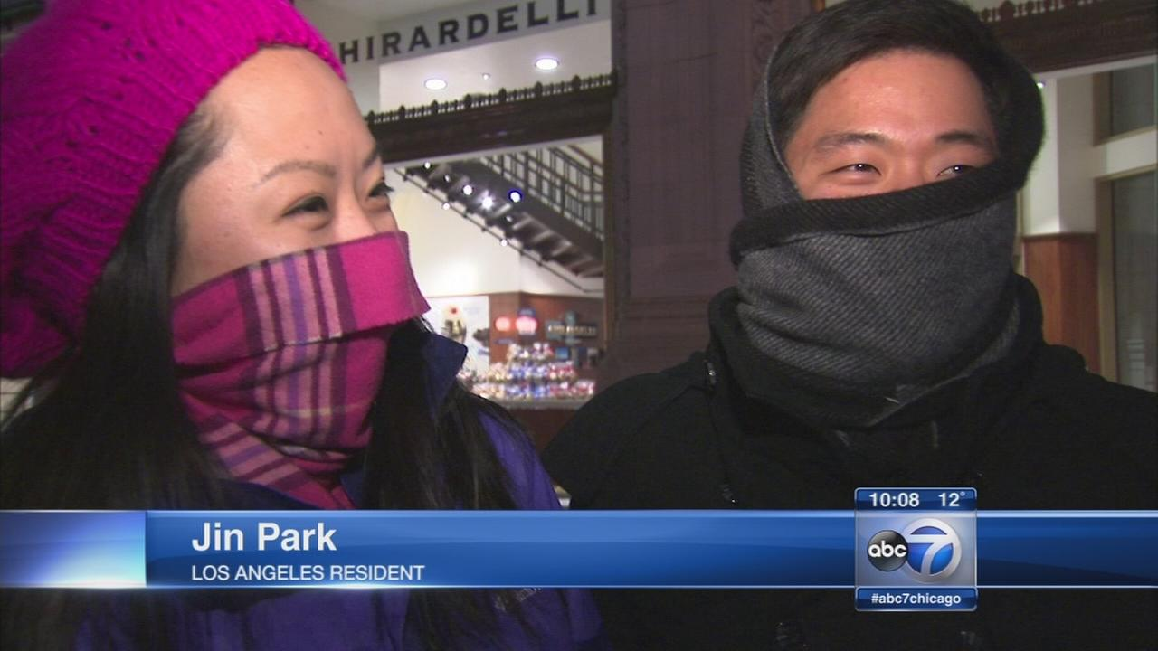 Frigid temps hit Chicago