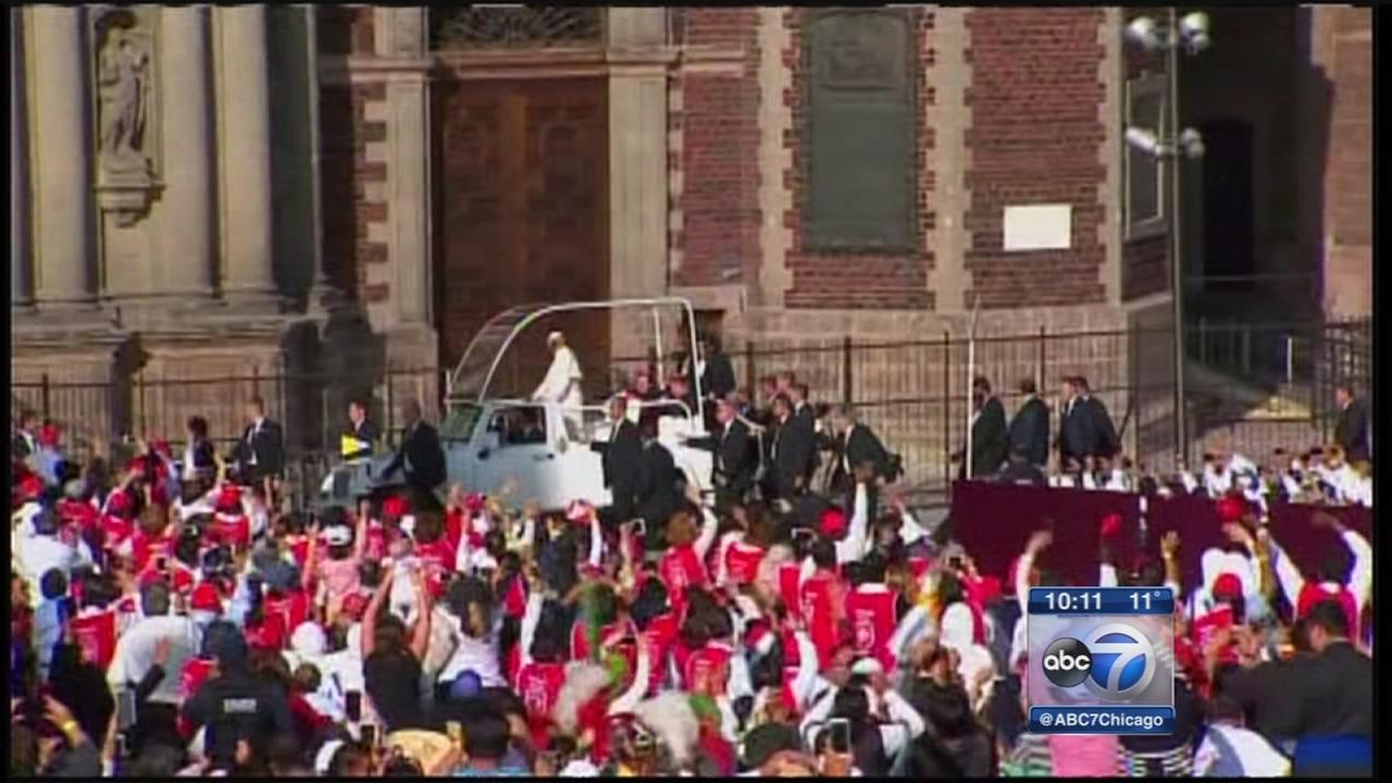 Pope visits Mexico