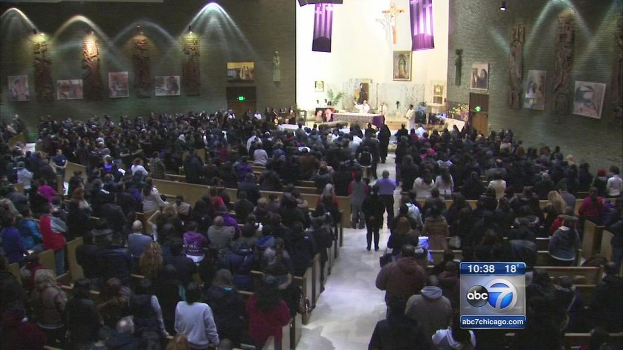 Funeral for Martinez family