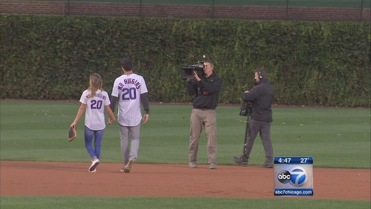 The Bachelor at Wrigley Field on Monday