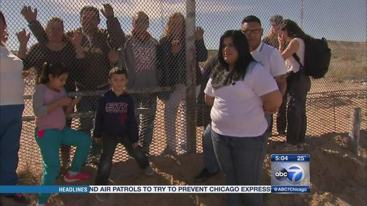 Migrants on U.S.-Mexico border prepare for Popes visit