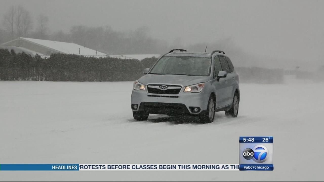 Consumer Reports: Best small SUV in snow