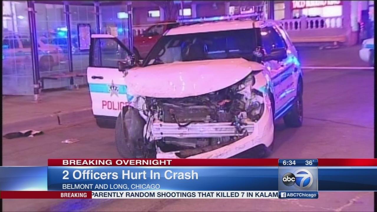 3 injured in Northwest Side crash