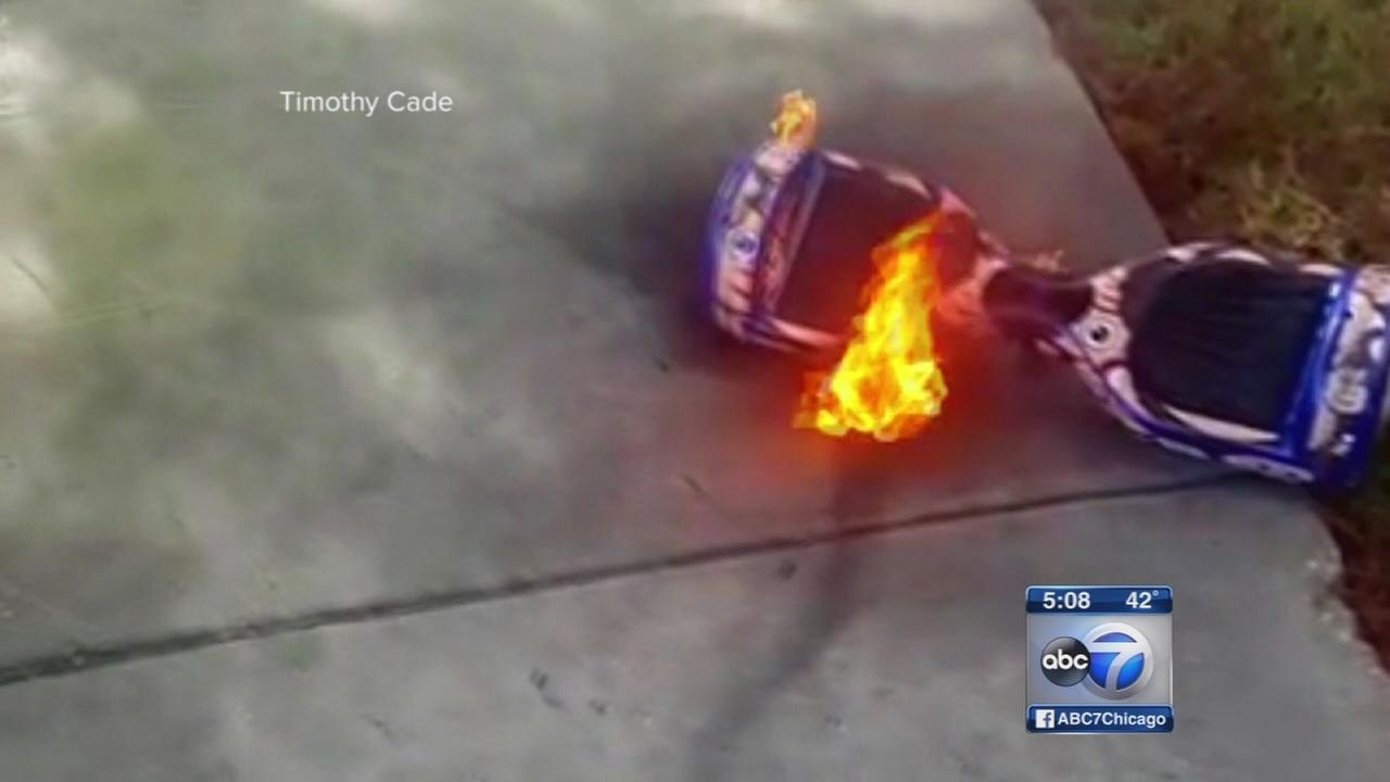 Hoverboard safety testing in Chicago area