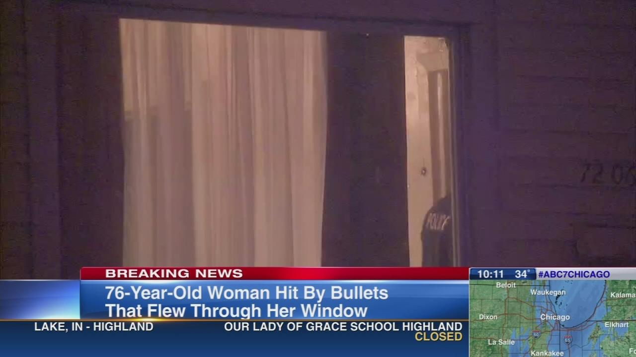 Woman shot thruogh window in Englewood
