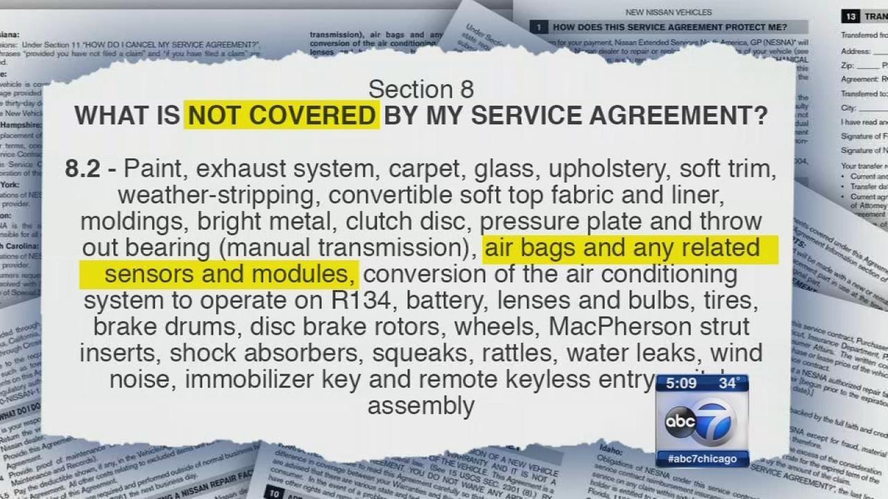 I-Team: Airbag Warranty