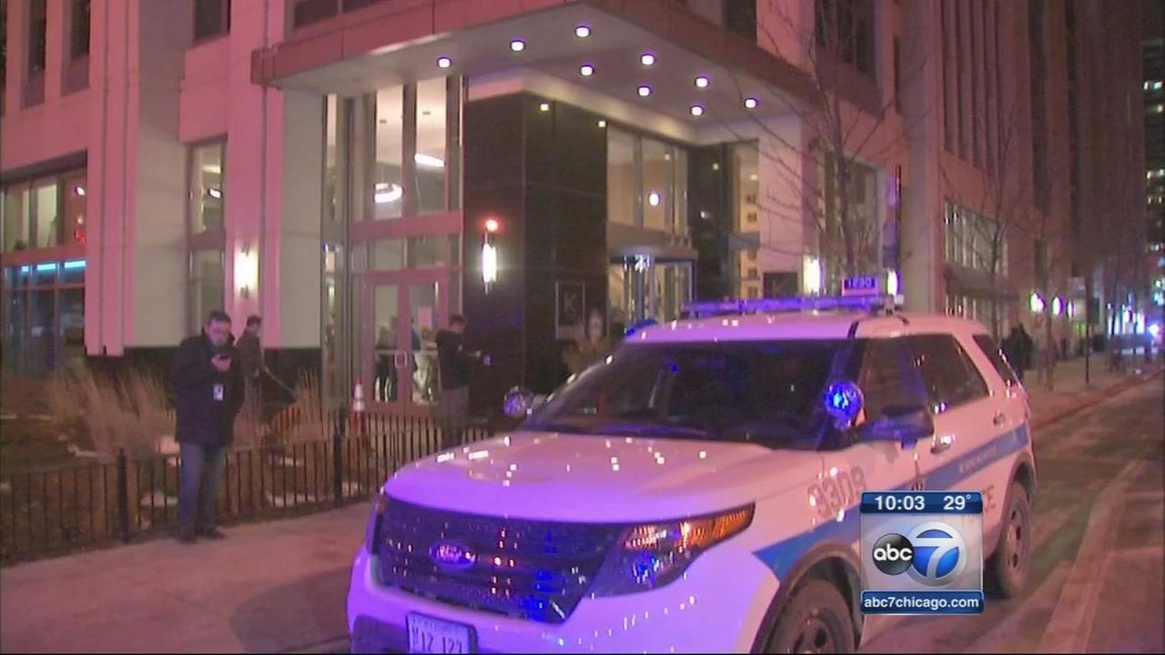 Man shot and killed in residential high rise workout room