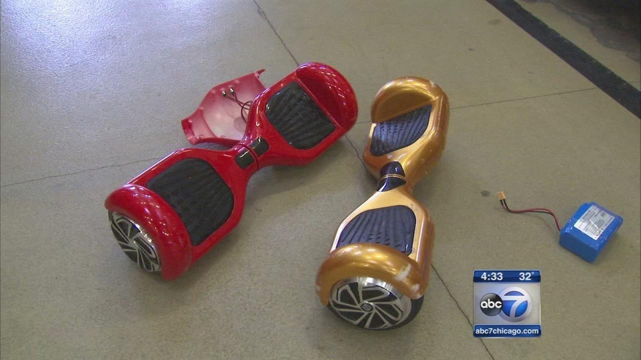 Highland Park offering drop-off for hoverboards