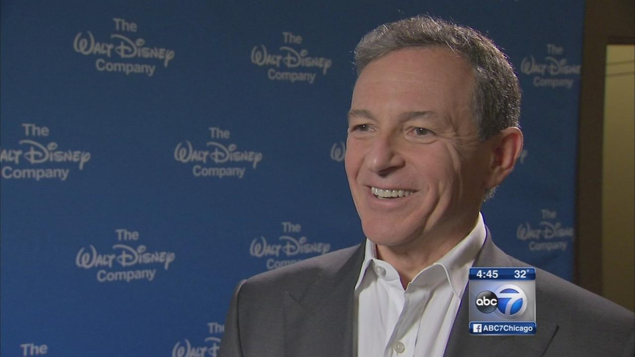 Disney CEO holds shareholders meeting in Chicago