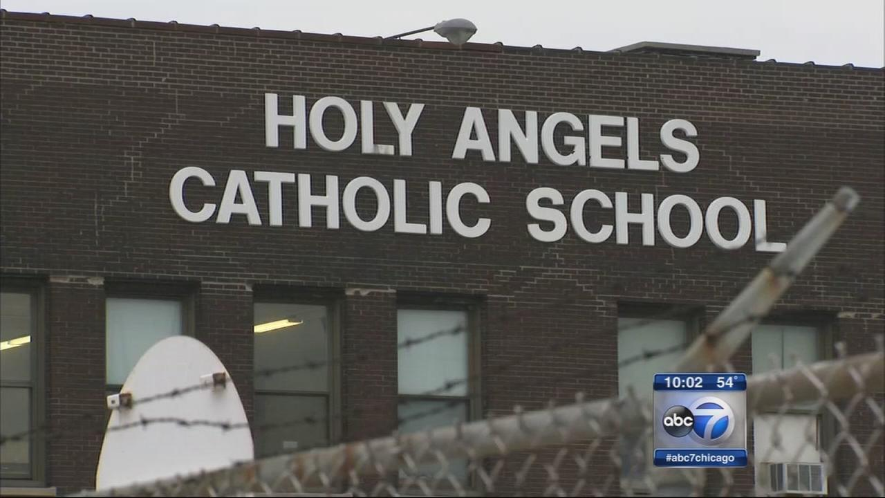 Holy Angels closes due to lead
