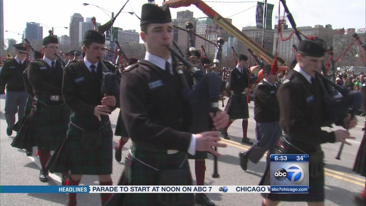 Irish officials visit for Chicagos St. Patricks Day