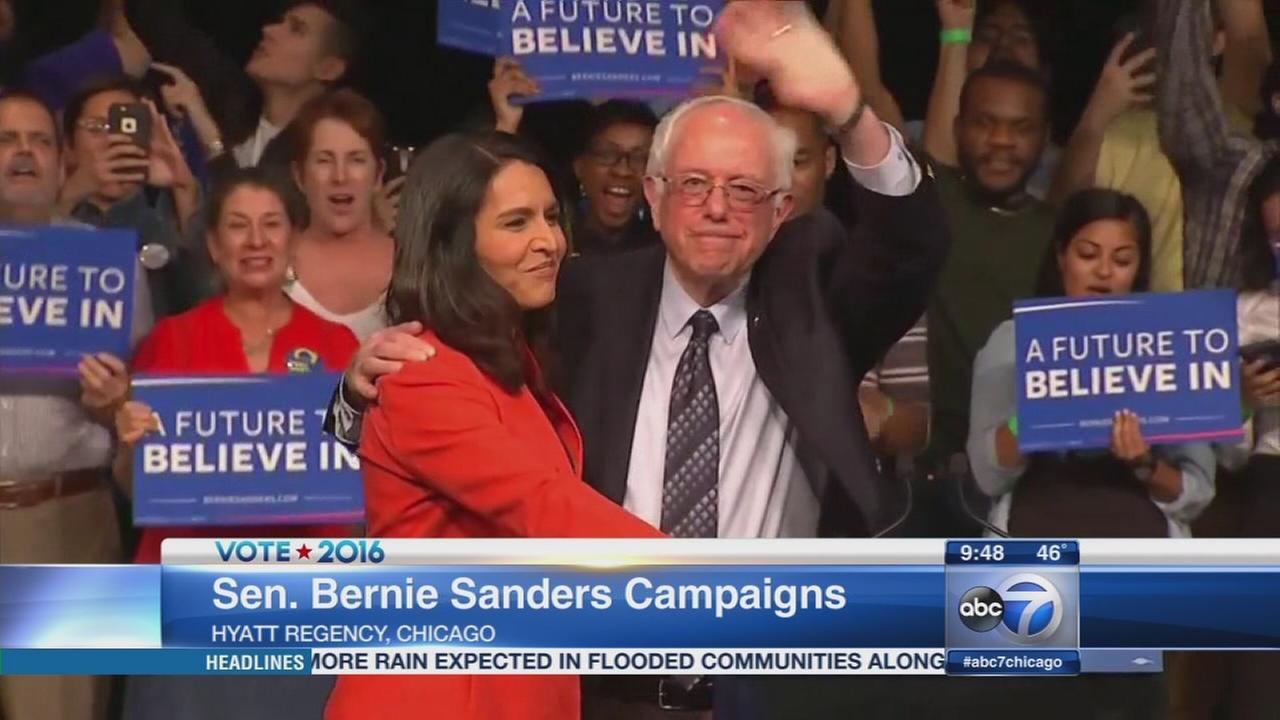 Bernie Sanders continues Chicago campaign visit