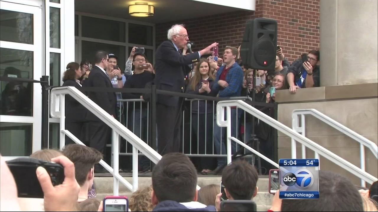 Bernie Sanders at U of I