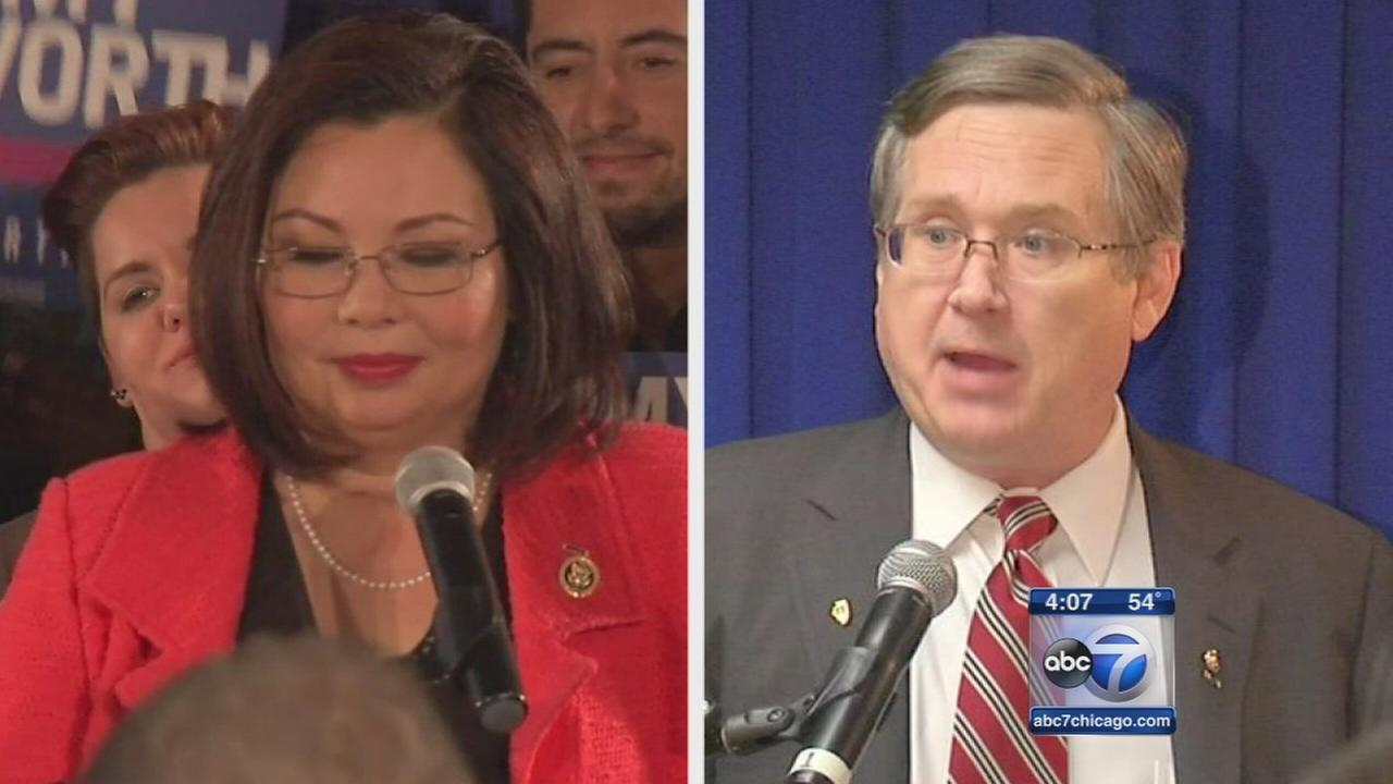 Duckworth, Kirk win Illinois US Senate primaries