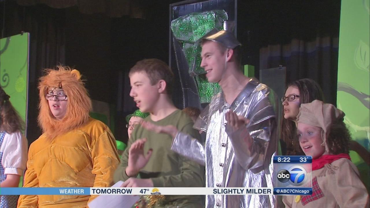 Theater program pairs special-needs students with peer mentors