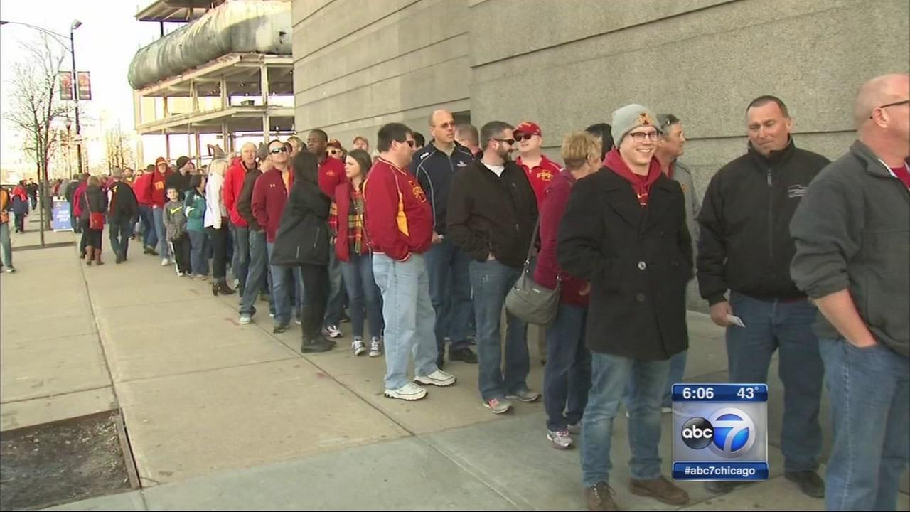 March Madness arrives at the United Center