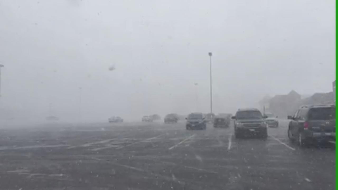 Snow in Waukegan