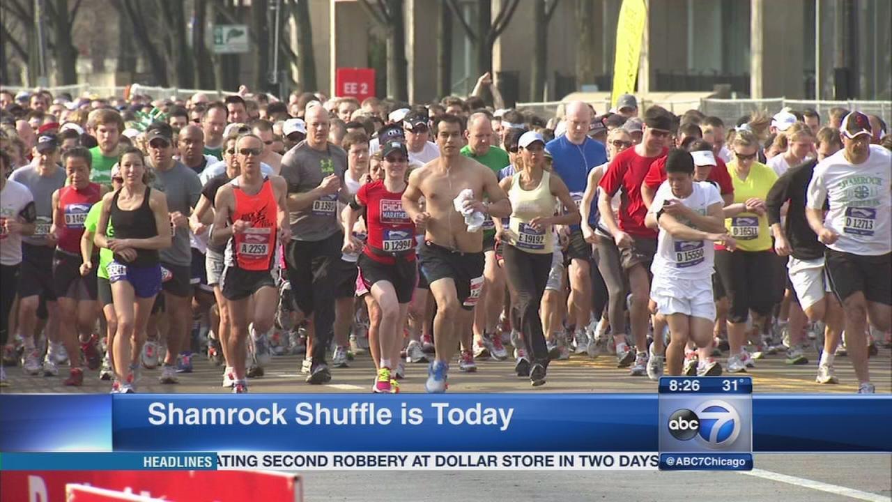 Shamrock Shuffle runs through Chicago