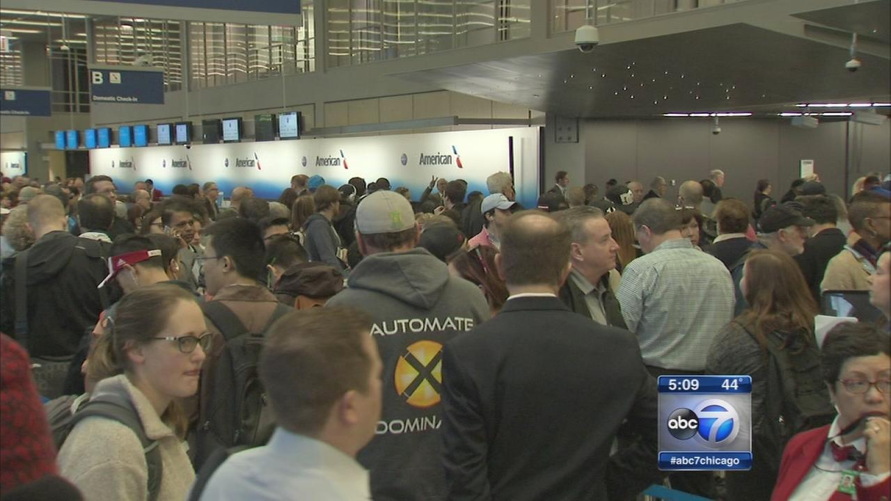 TSA security wait times increasing at OHare